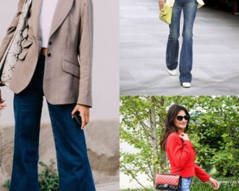flared jeans thediscerningstylist cover image